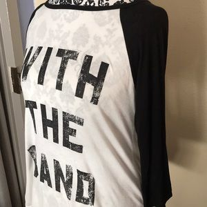 one clothing Tops - With the Band Long Sleeve Tee